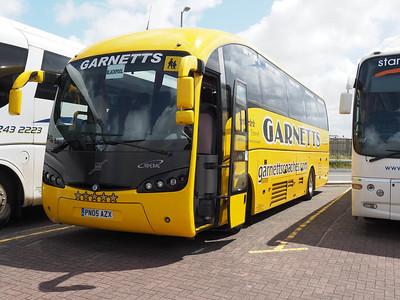 Garnetts, Bishop Auckland Volvo B12M Sunsunsegui Sideral PN05 AZX