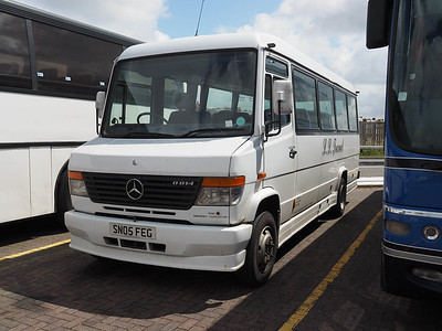 LL Travel, Mexborough Mercedes-Benz Vario Plaxton Beaver II SN05 FEG (1)