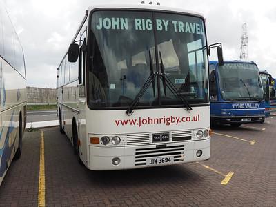John Rigby Travel, Batley DAF SB3000 Van Hool Alizee T8 JIW 3694 (2)