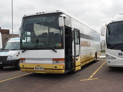 Burrells, Newsham Volvo B10M Van Hool T9 W441 DYG (1)