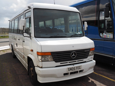 LL Travel, Mexborough Mercedes-Benz Vario Plaxton Beaver II SN05 FEG (2)