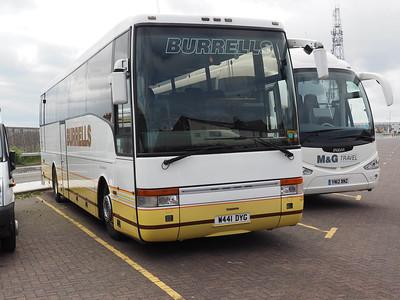 Burrells, Newsham Volvo B10M Van Hool T9 W441 DYG (2)