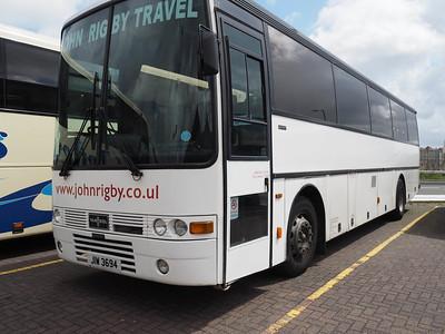 John Rigby Travel, Batley DAF SB3000 Van Hool Alizee T8 JIW 3694 (1)