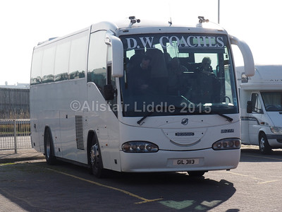 D.W. Coaches, Chesterfield Scania Irizar Century GIL 3113 (1)