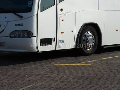 D.W. Coaches, Chesterfield Scania Irizar Century GIL 3113 legal lettering