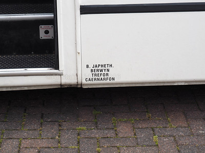 Japheth, Trefor, Caernarfon Mercedes-Benz Vario Plaxton Cheetah L20 CBC legal lettering