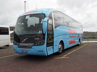 Yorkshire Rose Coaches, Barnsley Volvo B9R Sunsundegui Sideral  BU14 EHG (1)