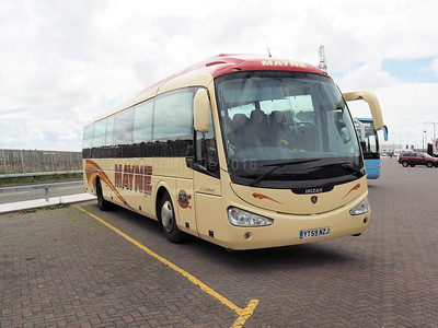 Mayne, Warrington Scania K310IB4 Irizar i4 62 YT59 NZJ (2)