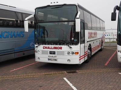 Challinor Travel DAF SB3000 Van Holl Alizee T8 N53 FWU