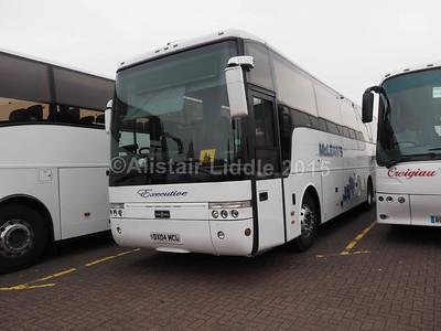 Ace Travel (McLeans) Volvo B12B Van Hool Alizee T9 DX04 MCL