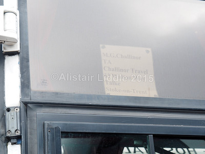 Challinor Travel DAF SB3000 Van Holl Alizee T8 N53 FWU  legal bit of paper!