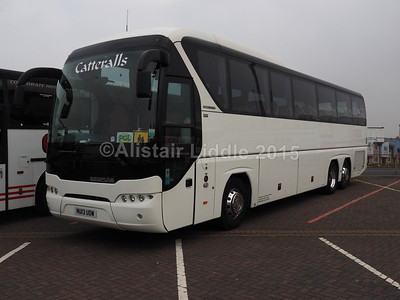 Catterall's Coaches Neoplan Tourliner EEV NU13 UDW