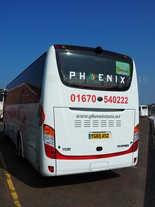 Phoenix Taxis, Northumberland Yutong TC9 YG65 ASZ (3)