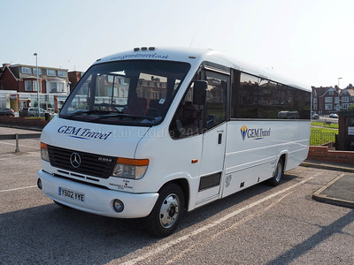 Gem Travel, Stanley Mercedes-Benz Vario Plaxton Cheeteah YS02 YYE (1)