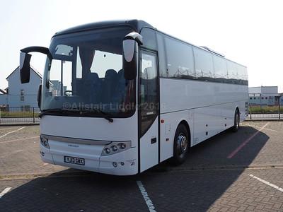 Cochrane Kelvin Travel, Peterlee VDL SB4000 Berkhof Axial YJ13 GWX (2)