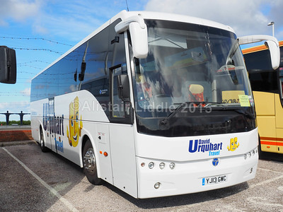 MacDonald Coaches, Motherwell, David Urquhart Travel Temsa Safari HD YJ13 GWC (1)