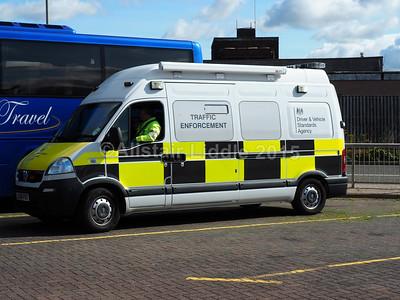 DVSA Vauxhall Movano LX08 FBD Traffic Enforcement Inspectors