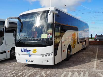 MacDonald Coaches, Motherwell, David Urquhart Travel Temsa Safari HD YJ13 GWC (2)