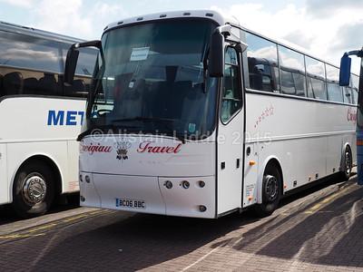 Creigiau Travel, Creigiau, Cardiff Bova 12.340 BC06 BBC