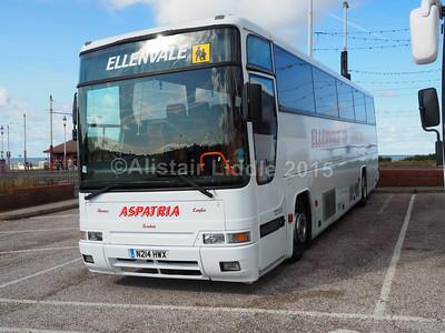 Ellenvale of Aspatria Volvo B10M Plaxton Premiere N214 HWX new to Wallace Arnold