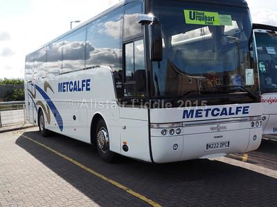 Metcalfe Coaches, Carlisle DAF SB4000 Van Hool Alizee T9 M222 DPC (2)