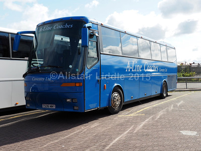 A-Line Coaches Bova T536 WWY