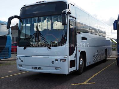 C & R Travel, Abertillery Volvo B10M Plaxton Paragon CN04 NFG