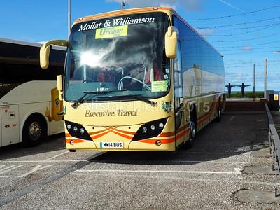 Moffat & Williamson Volvo B9R Plaxton Panther 2 MW14 BUS