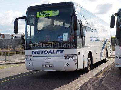 Metcalfe Coaches, Carlisle DAF SB4000 Van Hool Alizee T9 M222 DPC