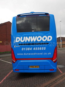 Dunwood, West Midlands Scania K360 Touring Higer YN66 WSD (3)