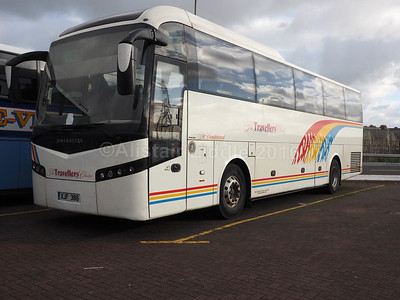 The Travellers Choice, Carnforth Volvo B12B Jonckheere SHV XJF 386 (1)