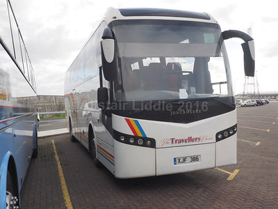The Travellers Choice, Carnforth Volvo B12B Jonckheere SHV XJF 386 (2)