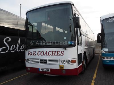 P&E Coaches, Hartlepool Volvo B10M Van Hool Alizee T8 P811 GBA (1)