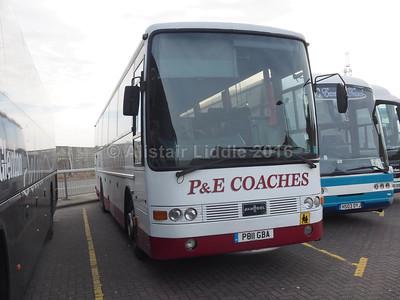 P&E Coaches, Hartlepool Volvo B10M Van Hool Alizee T8 P811 GBA (2)