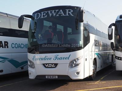 Dewar Coaches, Falkirk VDL Futura FHD2 SF18 MYO