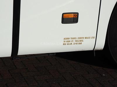 Acorn Travel (South Wales) Ltd. Setra S416 GT-HD N18 ACO legal lettering