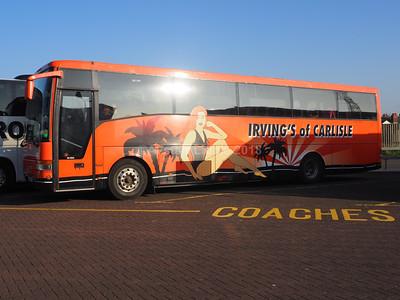 Irving's Coaches of Carlisle Volvo B10M-62 Van Hool Alizee T9 Y11 BUS (2)