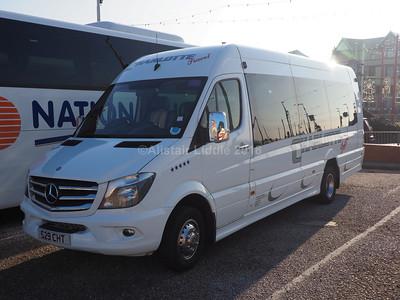 Charlotte Travel of Bonnyrig Mercedes Benz Sprinter 516CDi Excel S29 CHT