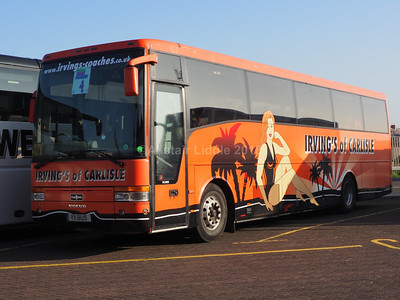 Irving's Coaches of Carlisle Volvo B10M-62 Van Hool Alizee T9 Y11 BUS (1)