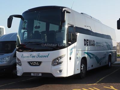 Dewar Coaches, Falkirk VDL Futura FHD2 T9 DOF (1)