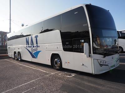 New Adventure Travel, Cardiff Volvo B11R Plaxton Elite i YN13 GDE (1)