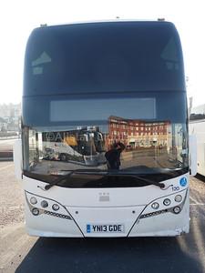 New Adventure Travel, Cardiff Volvo B11R Plaxton Elite i YN13 GDE (2)
