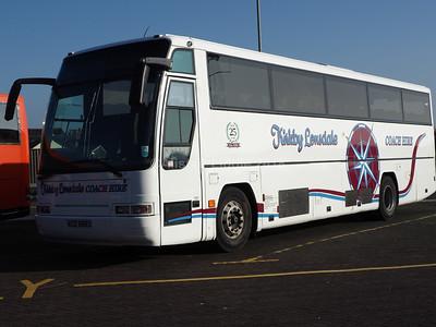 Kirkby Lonsdale Coach Hire Volvo B10M Plaxton Excaliber ACZ 6693 (1)