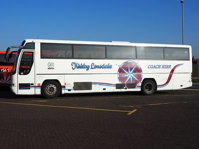 Kirkby Lonsdale Coach Hire Volvo B10M Plaxton Excaliber ACZ 6693 (2)