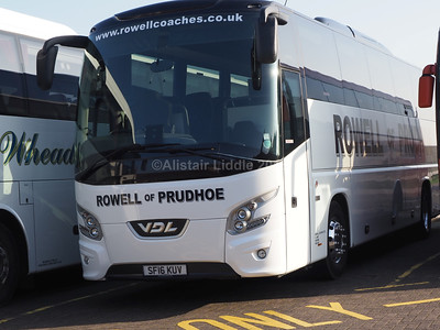 Rowell of Prudhoe VDL Futura FHD2 SF16 KUV