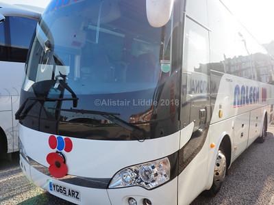 Arleen Coach Hire, Bath Yutong TC9 YG65 ARZ (1)