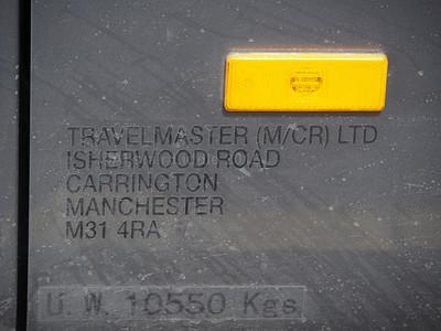 Travelmaster, Manchester Yutong TC9 M300 TMG legal lettering