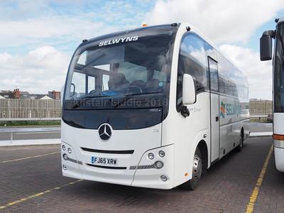 Selwyns, Runcorn Mercedes-Benz Atego Plaxton Cheetah XL FJ65 XRW (2)