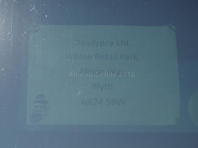 Phoenix, Blyth Yutong TC9 YG65 ASX legal lettering