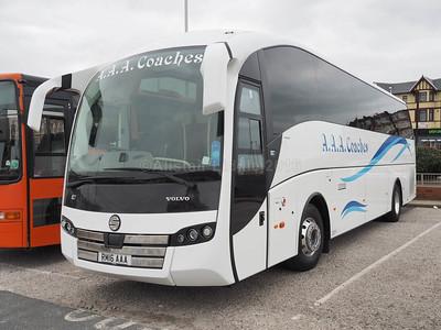 A.A.A. Coaches, East Calder Volvo B11R Sunsundegui SC7 RM16 AAA (1)